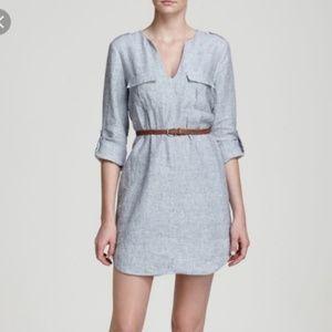 Joie Rathana Linen Shirt Dress, Size S